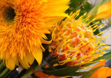Bouquet de fleurs Parisien