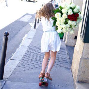 Livraison douce de fleurs