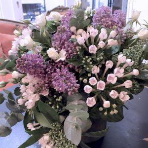 Bouquet de fleurs - Merci -04